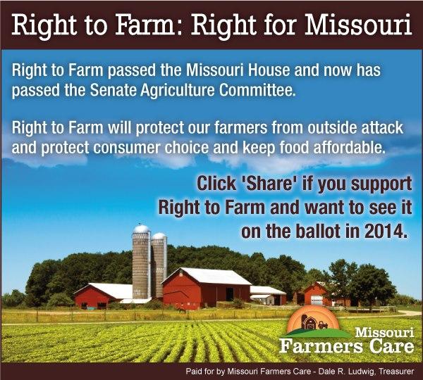 MO Farmers Care - Right to Farm Photo