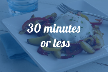 30 Minutes or Less Recipes
