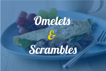 Omlets and Scrambles Recipes