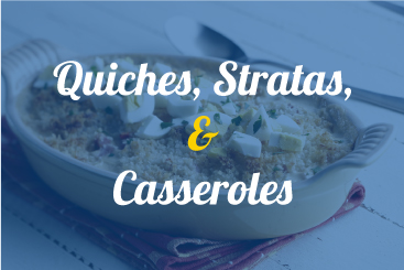 Quiches, Stratas, & Casseroles Recipes